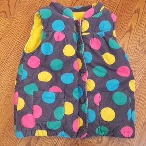 Carters courderoy vest girls size 6x